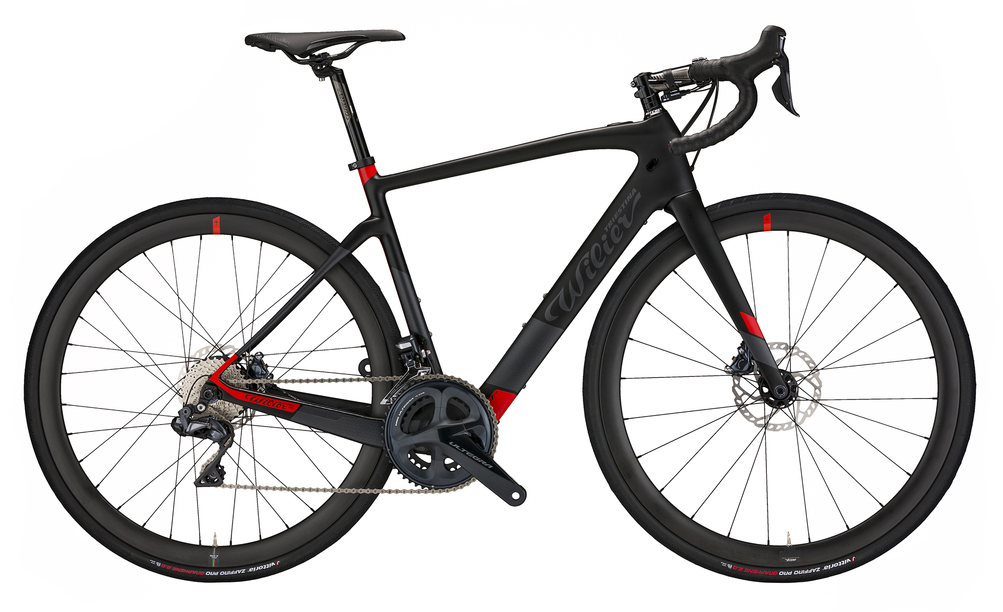 wilier cento1 hybrid e-road bike black red matt